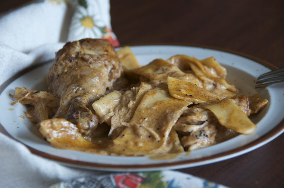 Authentic Hungarian Chicken Paprikash