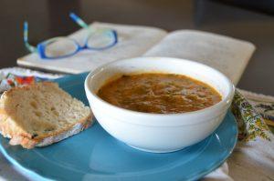 Hungarian zucchine soup