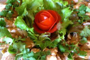 pan pan chicken salad