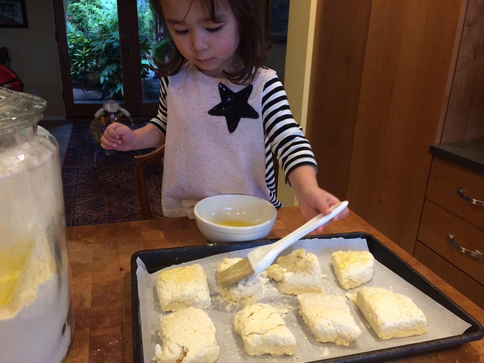 Children's cooking school