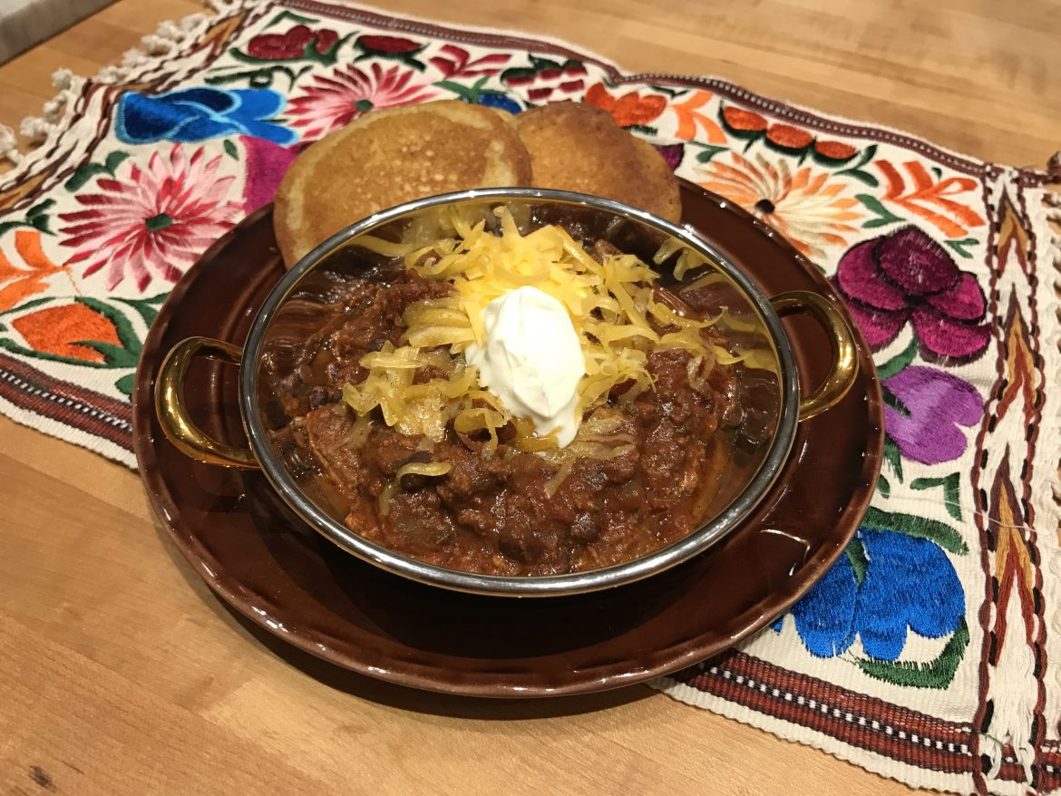 Chili contest winner recipe