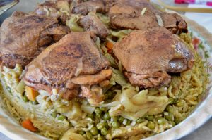 maqluba upside down Palestinian recipe