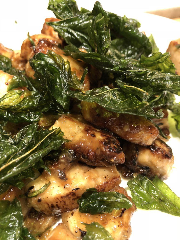 asian chicken basil